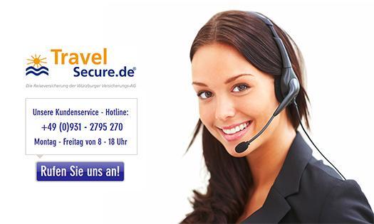 Kontakt - TravelSecure Reiseversicherung
