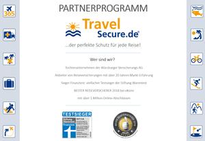 Travelsecure Partnerprogramm 2018