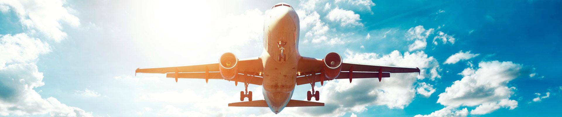 Reiserücktrittsversicherung für Flugreisen - Titelbild