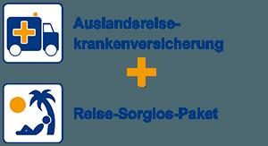 Auslandsreiseversicherung + Reise-Sorglos-Paket