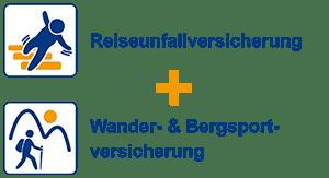 Reiseunfallversicherung + Wander- & Bergsportversicherung - Spezialversicherung