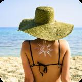 Sonnenhut Sonnencreme Sonnenbrand Sonne Schutz Tipps reiserücktrittsversicherung