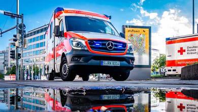 Krankentransport mit einem Krankenwagen