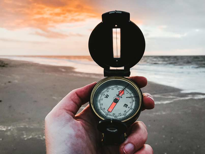 Auch mit Kompass kann man die Orientierung verlieren und sich verlaufen
