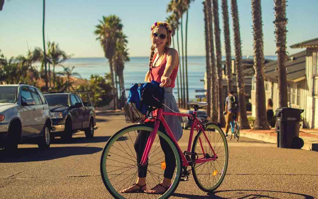 Radfahren im Urlaub