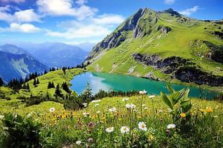 Wo wandern in Deutschland Allgäu Bayern Wanderversicherung Bergungsversicherung Bergsportversicherung Aulandskrankenversicherung