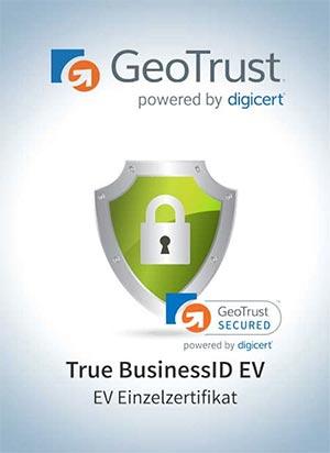 GeoTrust® True BusinessID EV Zertifikat