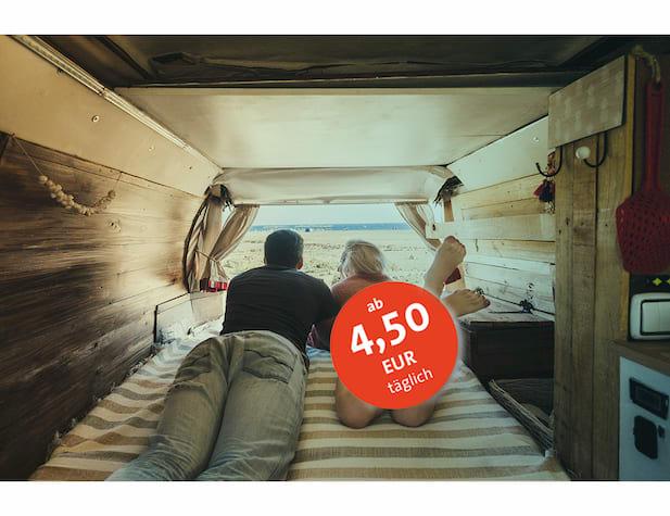 Camper Sorglos-Paket Preis Umbuchungsschutz Inhaltsversicherung kautionsversicherung Reiseversicherung